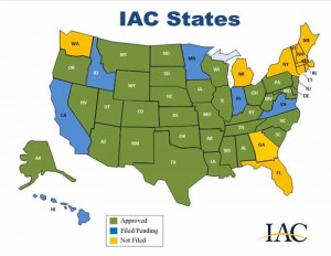 IAC new map
